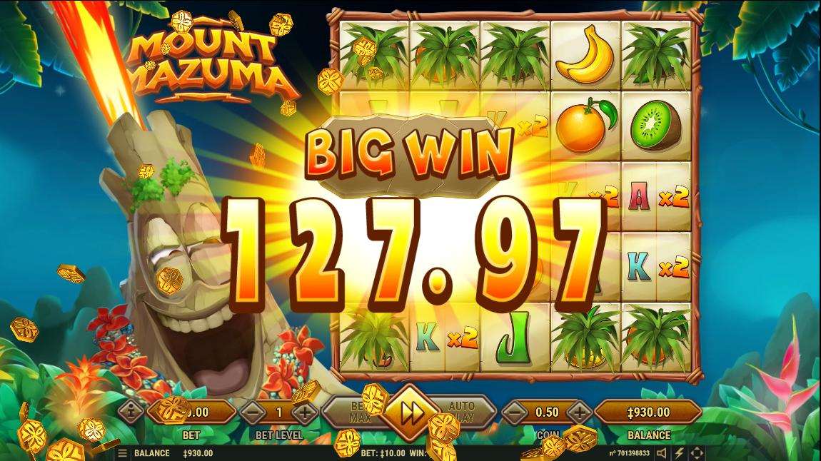 Mount Mazuma big win