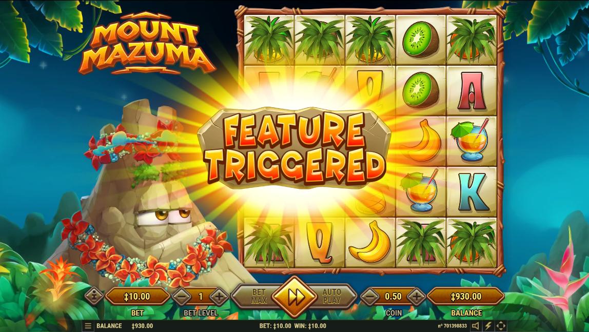 Mount Mazuma free spins bonus