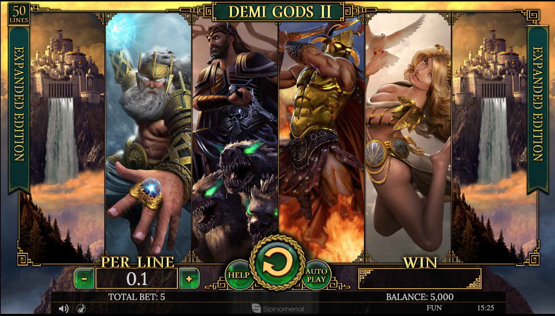 Demi Gods II Expanded high symbols