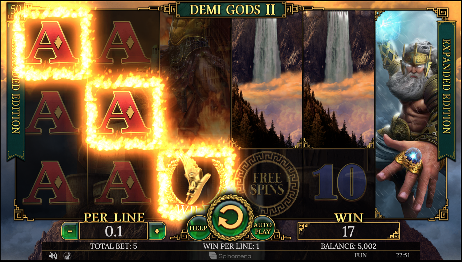 Demi Gods II Expanded version base game win