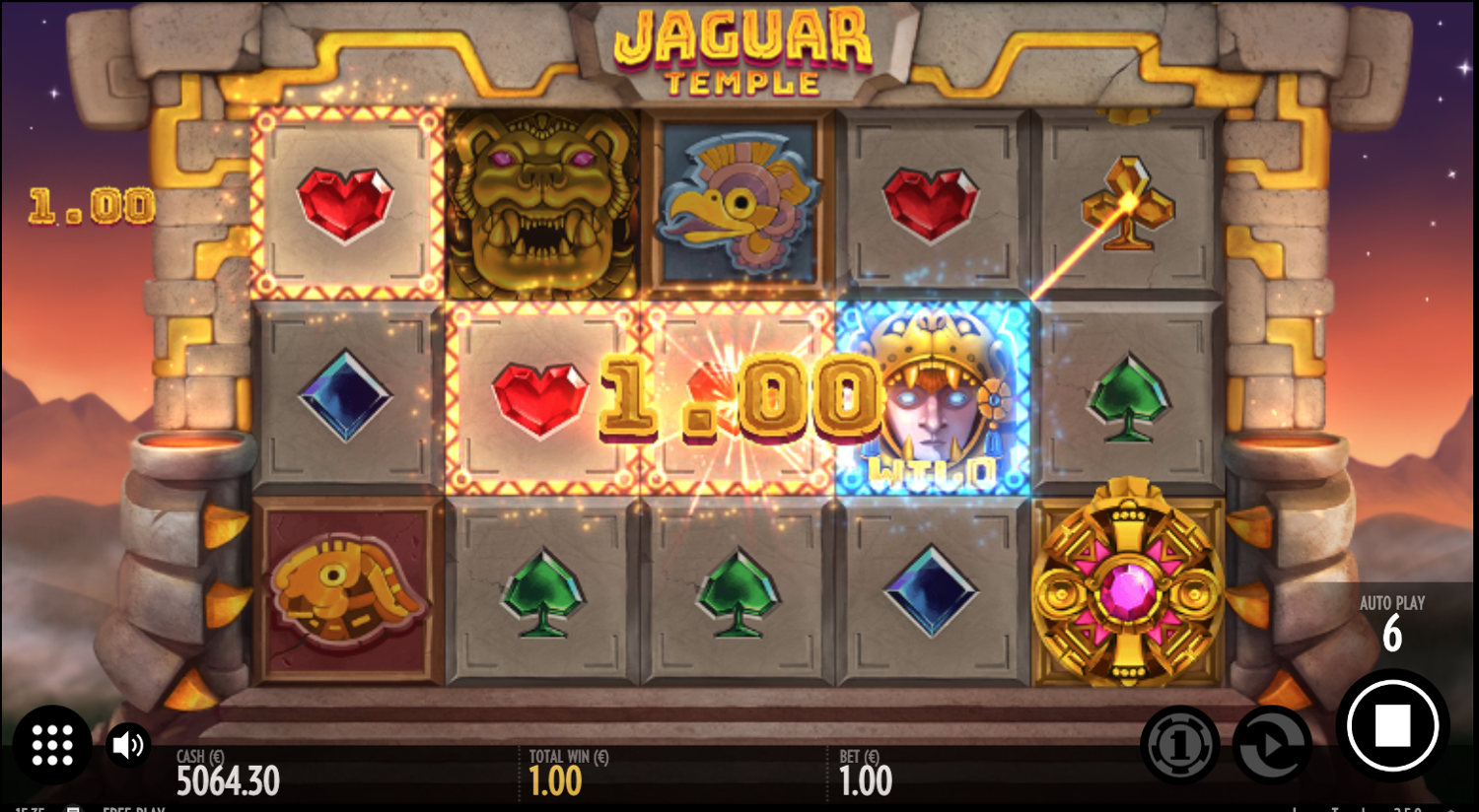Jaguar Temple slot win