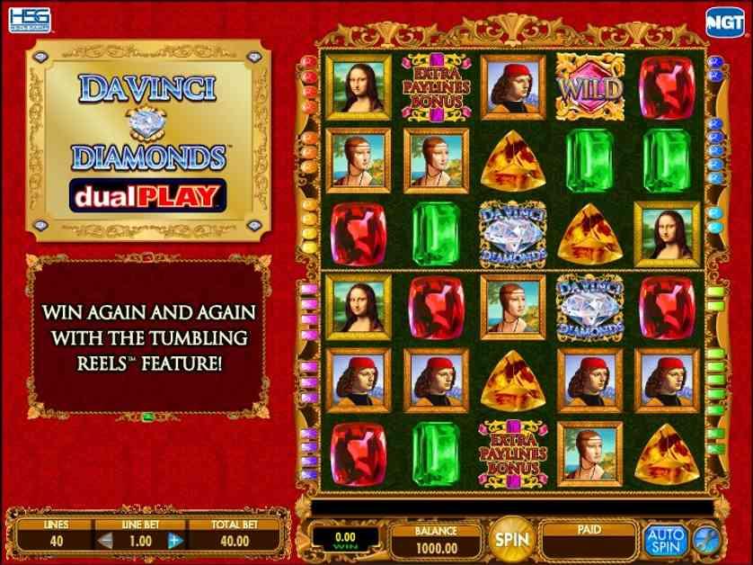 Da Vinci Diamonds Dual Play Free Slots.jpg