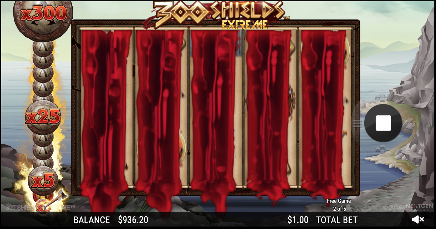 300 Shields Extreme with bloody visuals