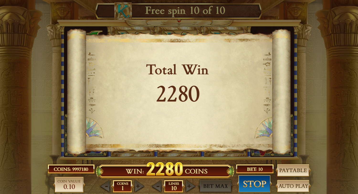 Book of Dead free spins big win