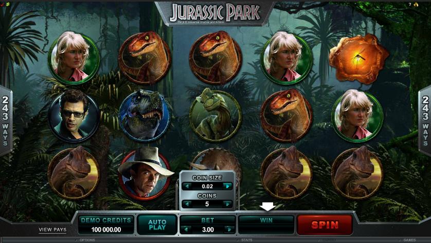 Jurassic Park Free Slots.png
