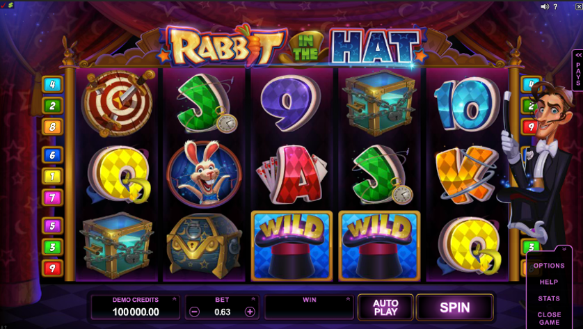 Rabbit in the Hat Free Slots.png