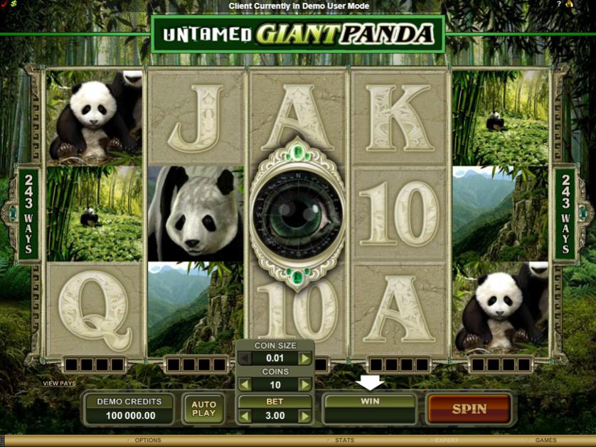 Untamed Giant Panda Free Slots.png