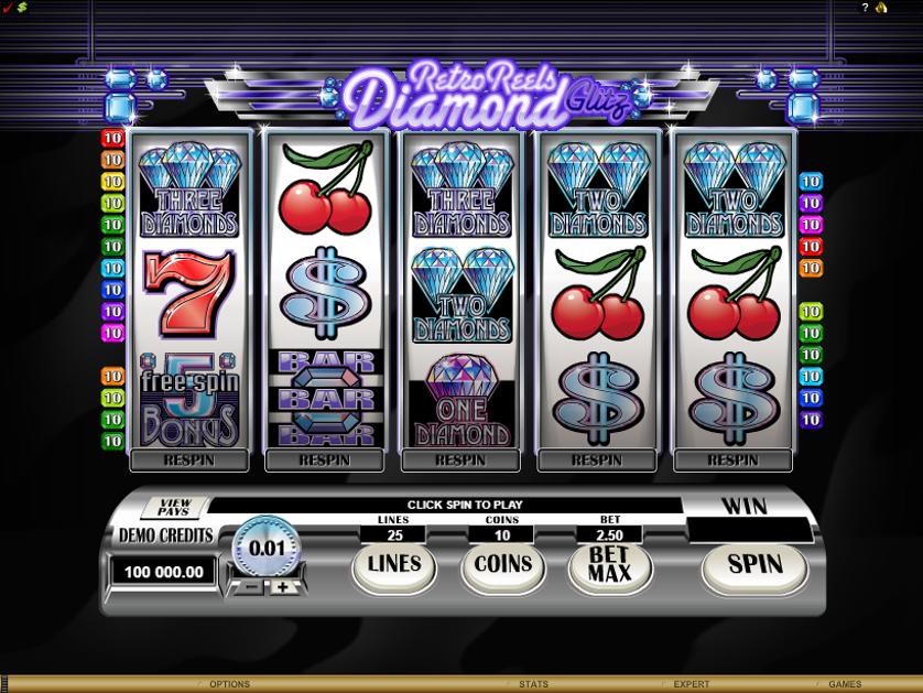 Retro Reels Diamond Glitz Free Slots.png