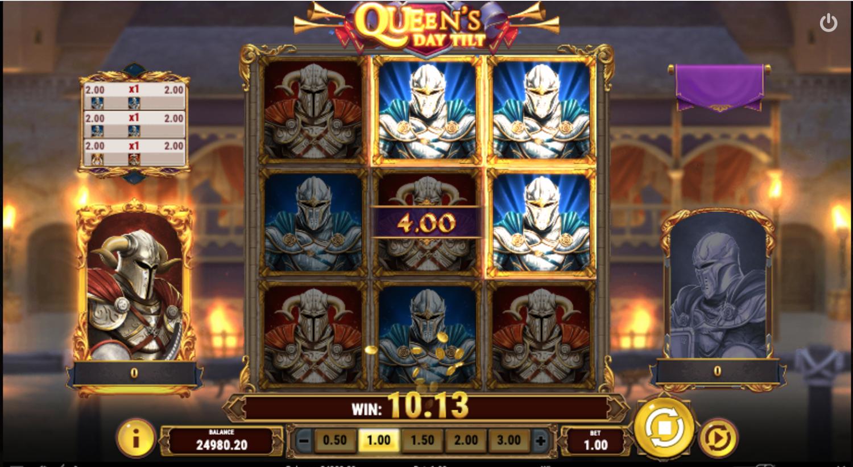 Queen's Day Tilt bonus round