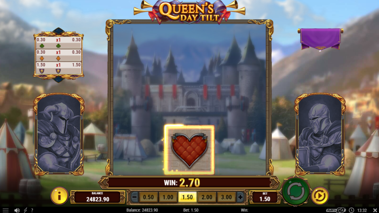 Queen's Day Tilt trigger for free spins