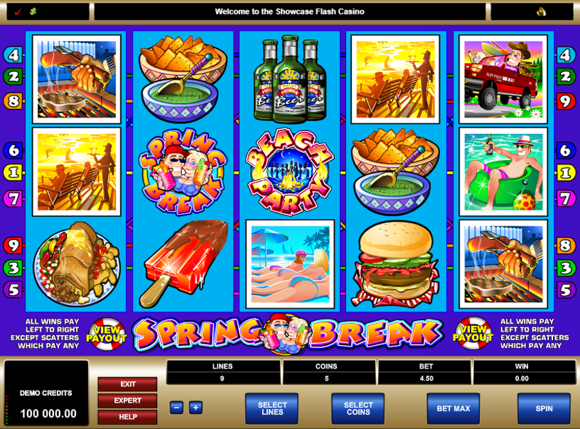 Spring Break Free Slots.png