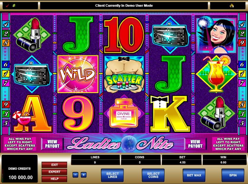 Ladies Nite Free Slots.png