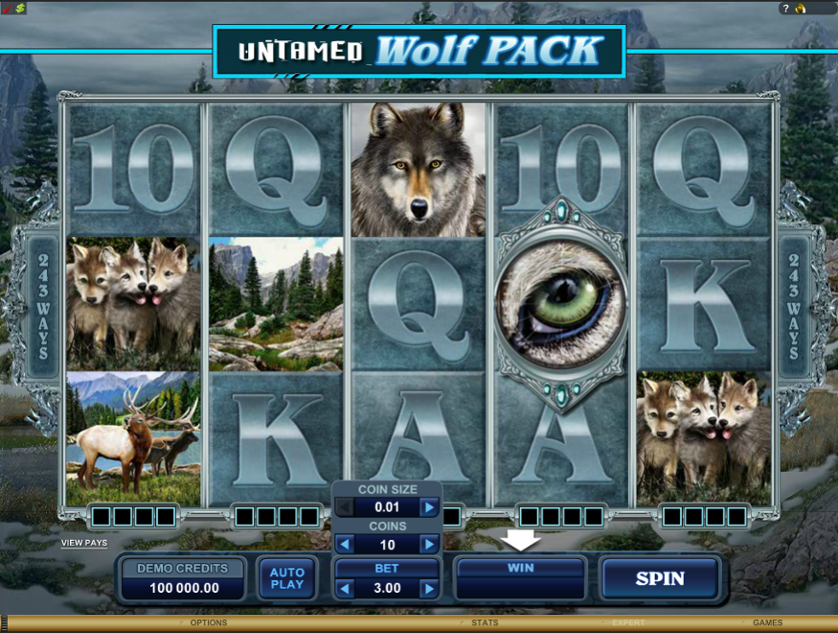 Untamed Wolf Pack Free Slots.png