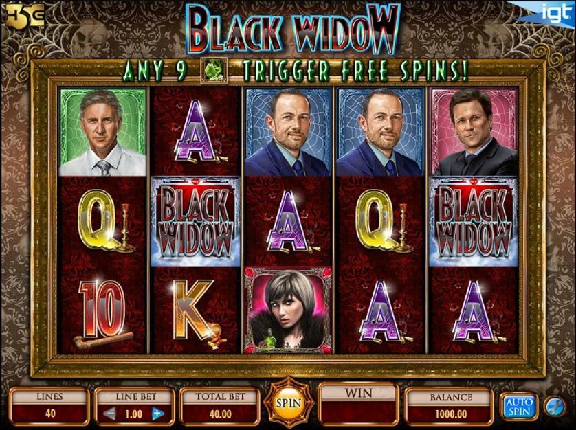 Black Widow Free Slots