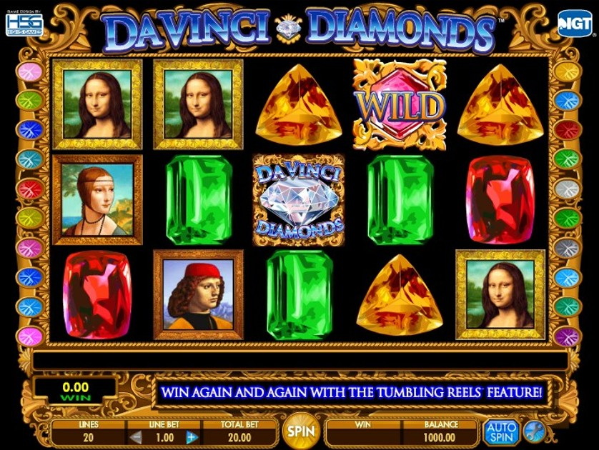 Da Vinci Diamonds Free Slots.jpg