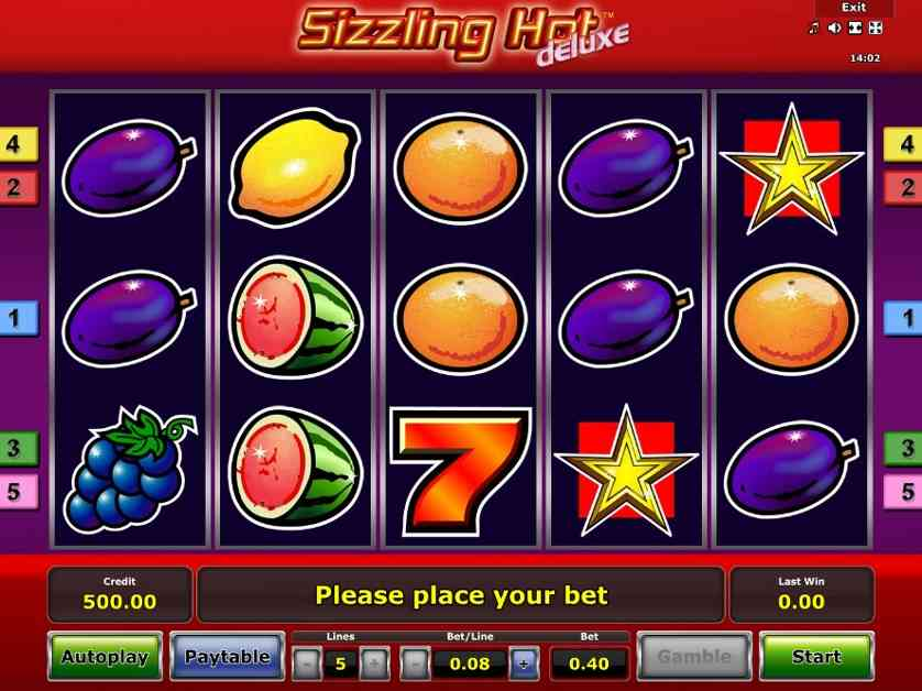 Sizzling Hot Deluxe Online Games