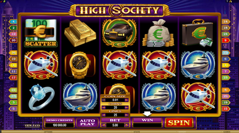 High Society Free Slots.png
