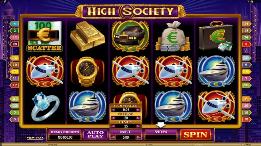 High Society Free Slots.png