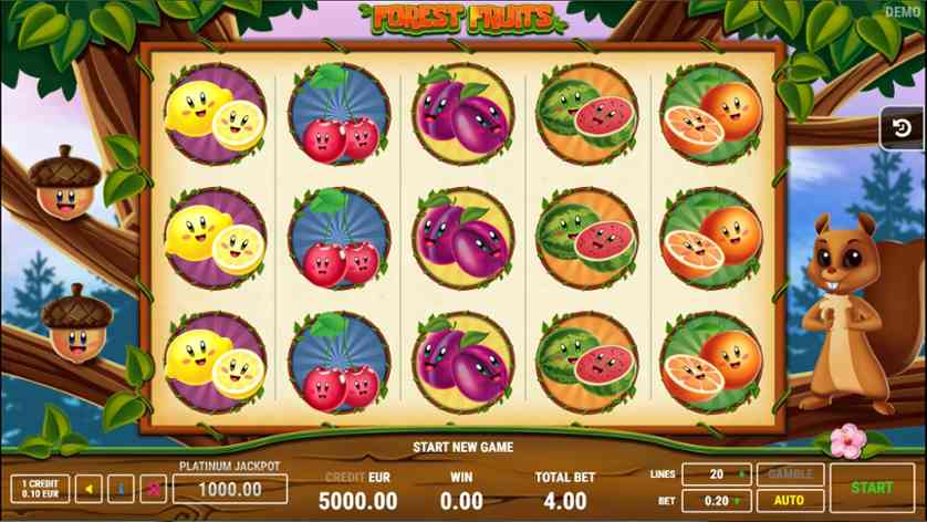 Spielen Sie Tropical Hot kostenlos im Demo Mode von Fazi