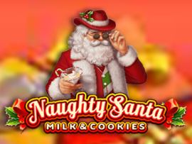 Naughty Santa Milk & Cookies