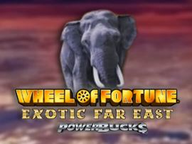 Wheel of Fortune Exotic Far East (Powerbucks)