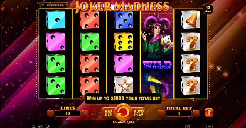 Joker Madness Free Play in Demo Mode