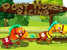 Pony Horse Racing