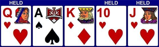 3 Cards to Royal Flush