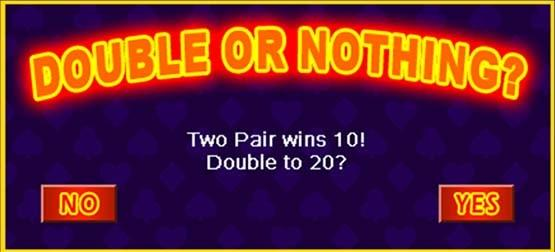 Double or Nothing Feature