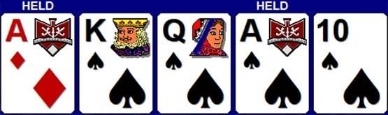 4 Cards to Royal Flush