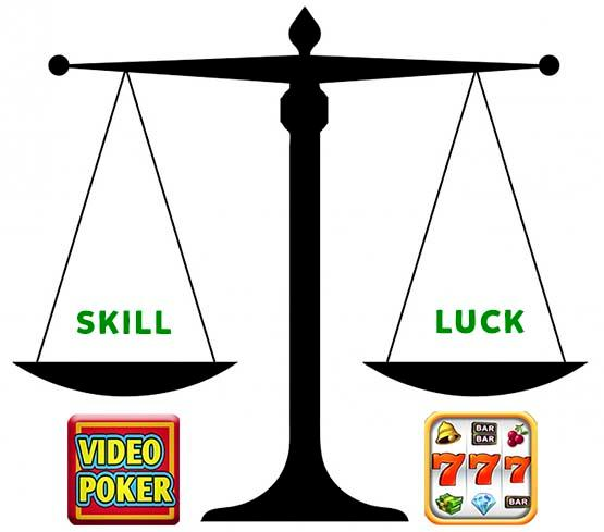Video Poker vs Slot Machines