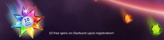 Free Spins for Starburst Promotion
