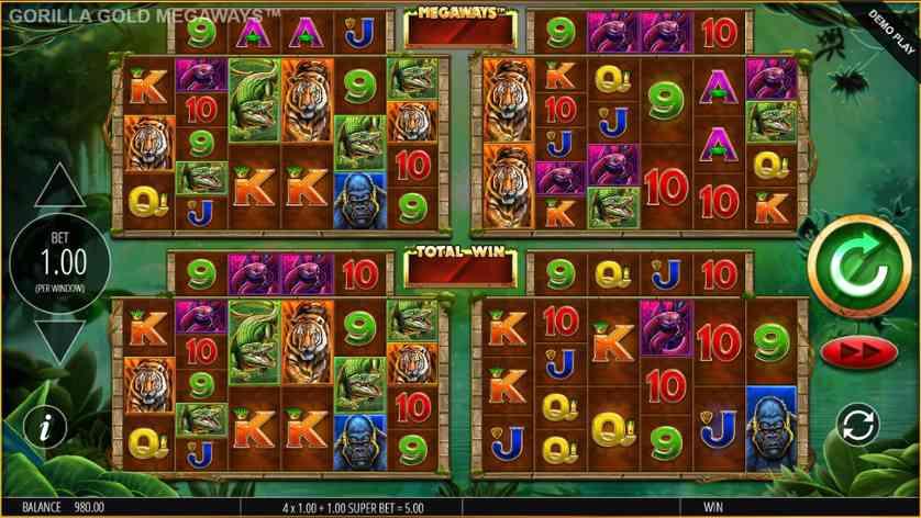 Spielen Sie Primal Megaways kostenlos im Demo Mode von Blueprint Gaming