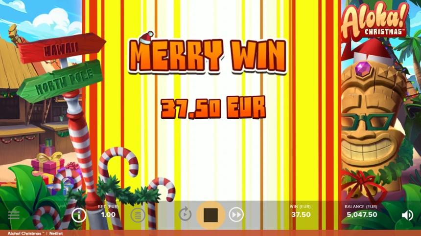 อโลฮ่า!  คริสต์มาสที่ยิ่งใหญ่ชนะ