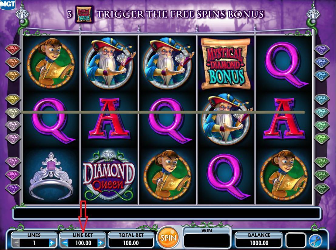 Diamond Queen Slot Strategy
