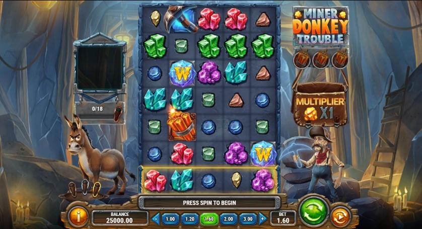 Miner Donkey Trouble.jpg