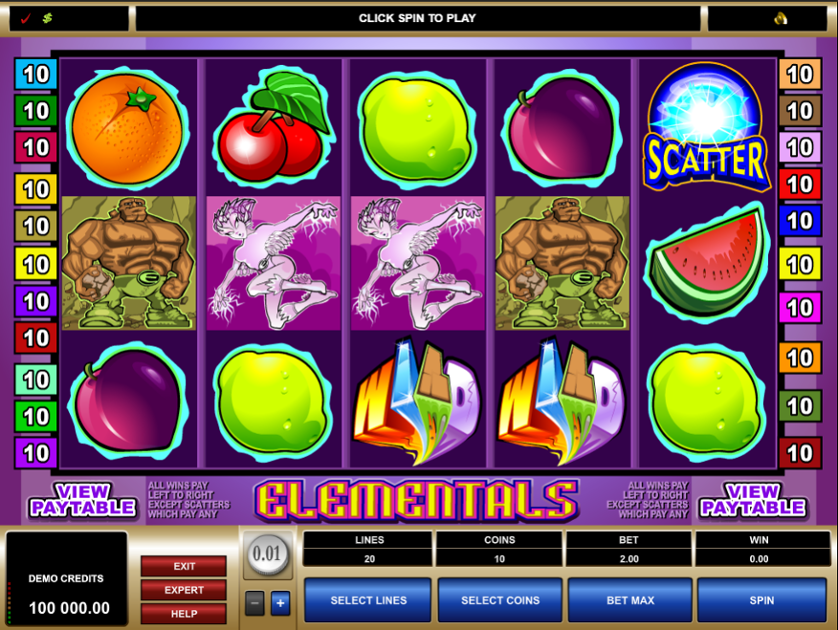 Elementals Free Slots.png