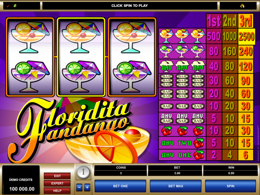 Floridita Fandango Free Slots.png