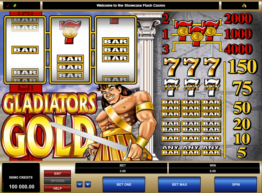 Gladiators Gold Free Slots.png