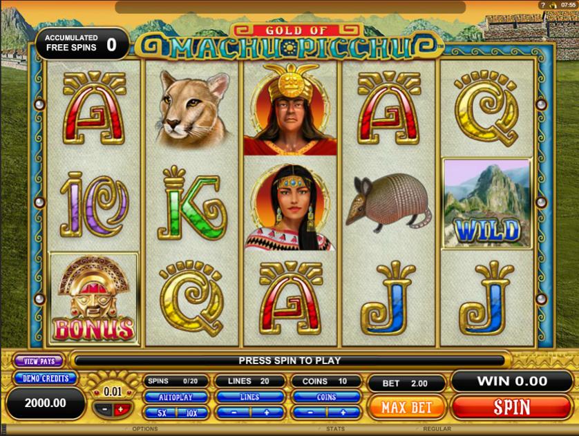 Gold of Machu Picchu Free Slots.png