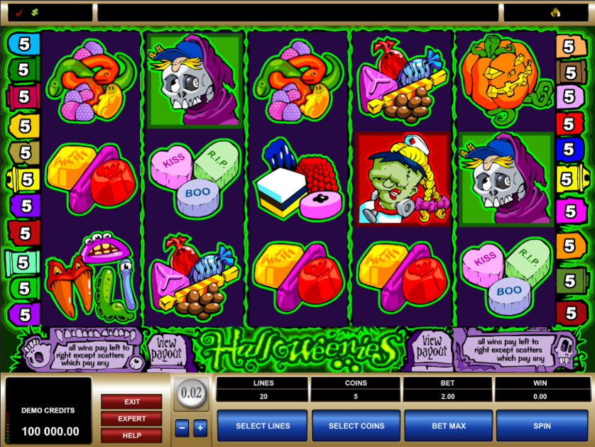 Halloweenies Free Slots.png