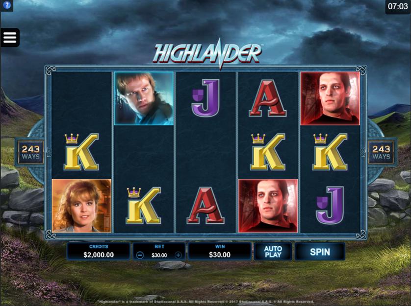 Highlander Free Slots.png