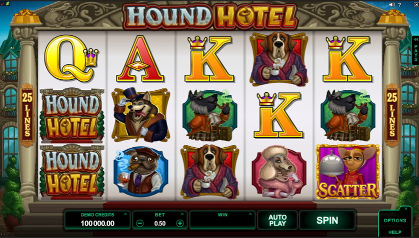 Hound Hotel Free Slots.png
