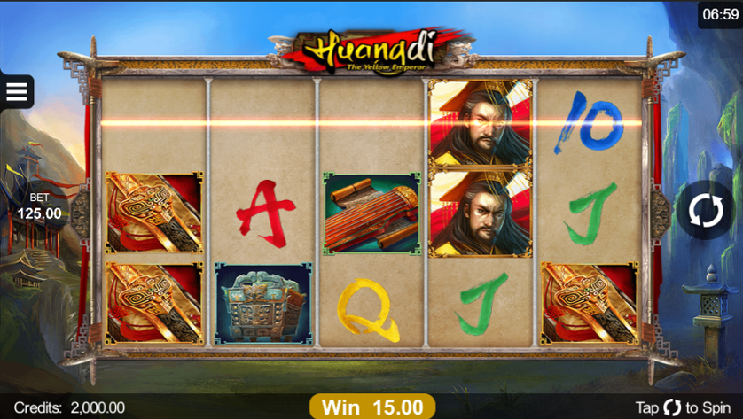 Huangdi the Yellow Emperor Free Slots.png