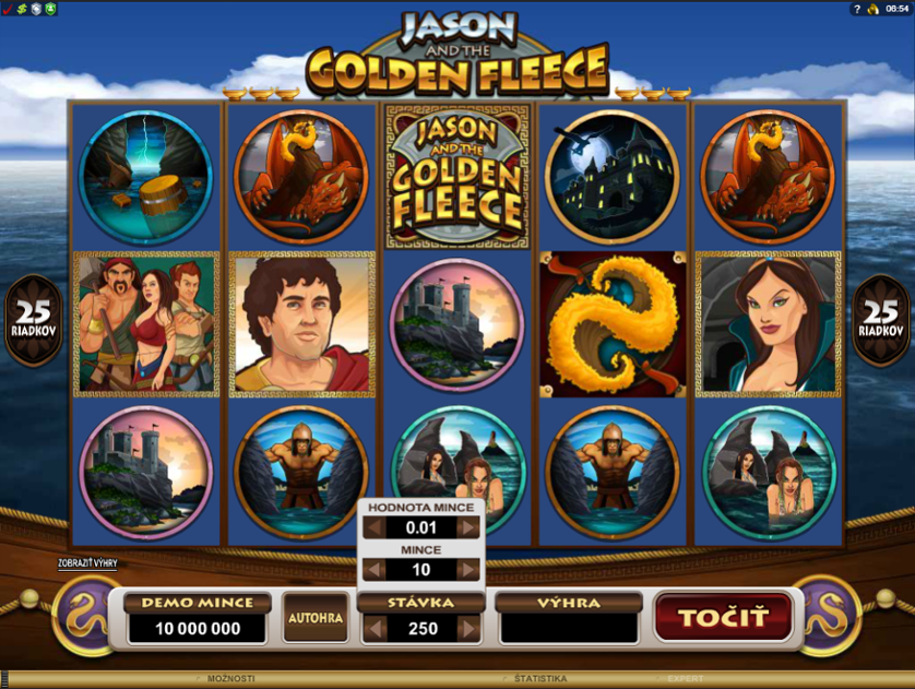Jason and the Golden Fleece Free Slots.png