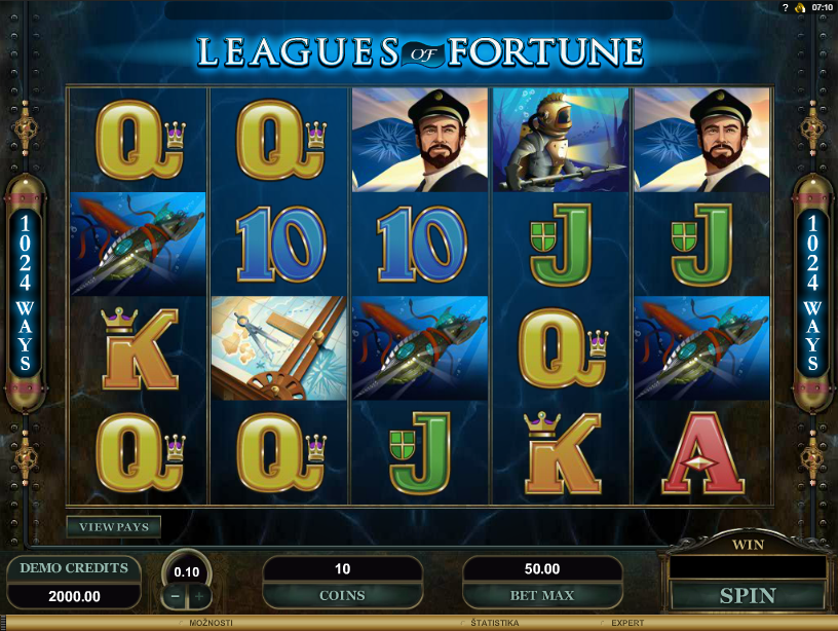 League of Fortune Free Slots.png