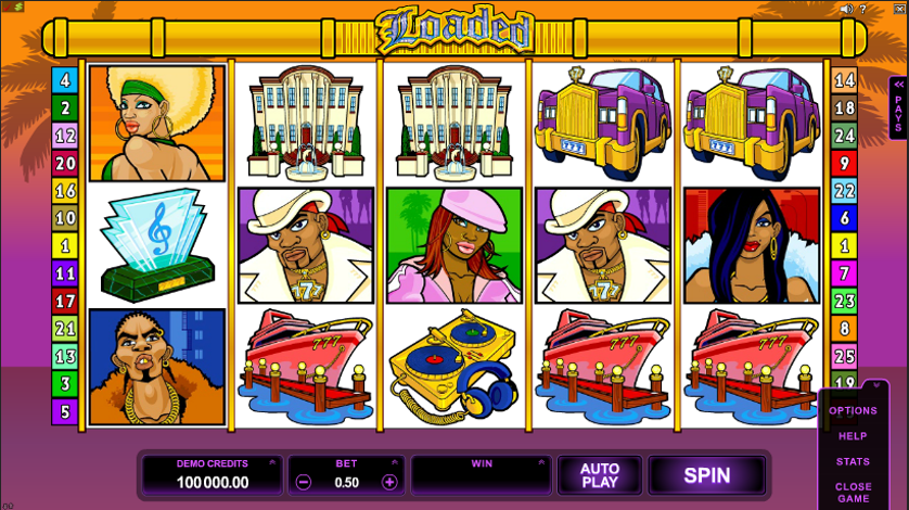 Mr. Bling Slot Machine Demo