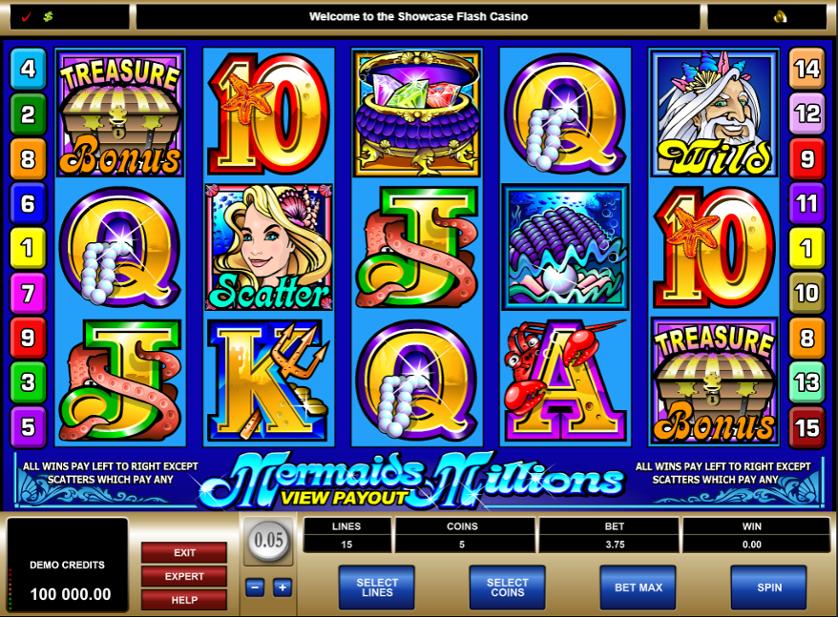 Mermaids Millions Free Slots.png