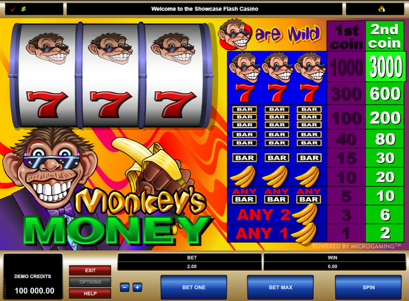 Monkey's Money Free Slots.png