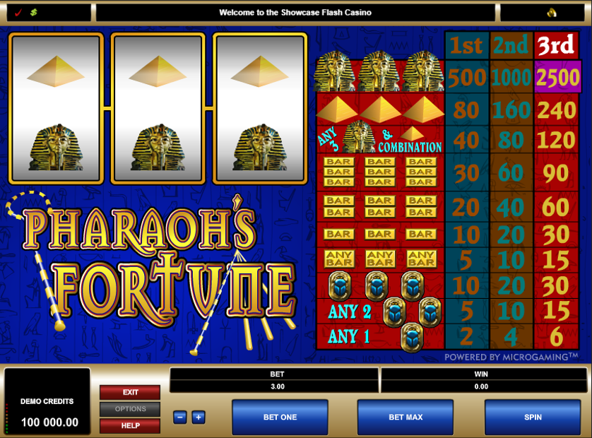 Pharaoh's Fortune Free Slots.png